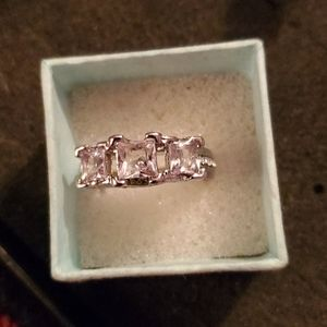 STERLING SILVER CZ Ring size 10